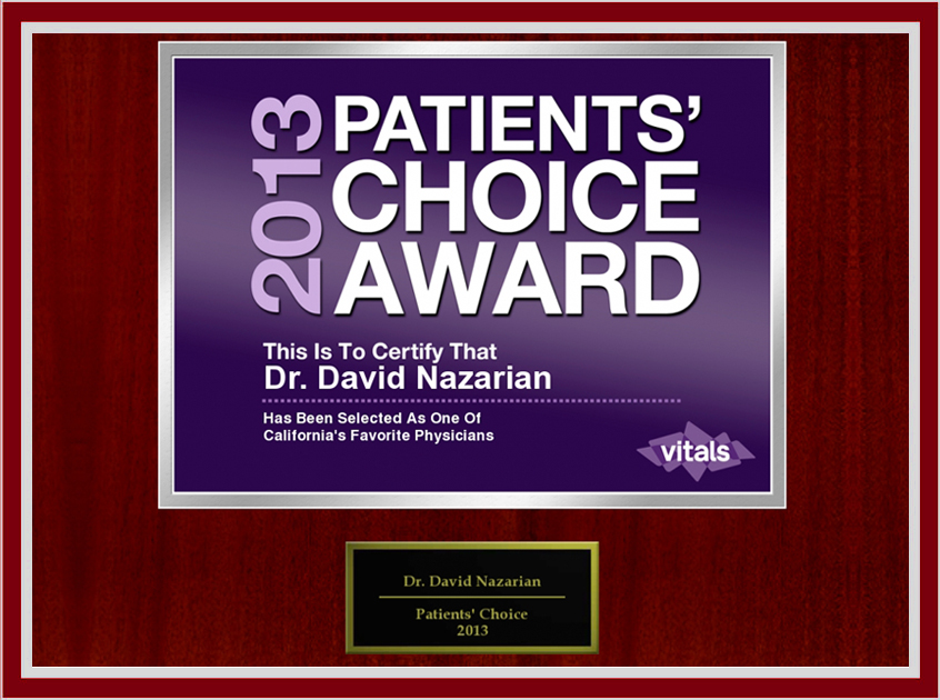 Patients Choice Award | IV Vitamin Therapy in Beverly Hills