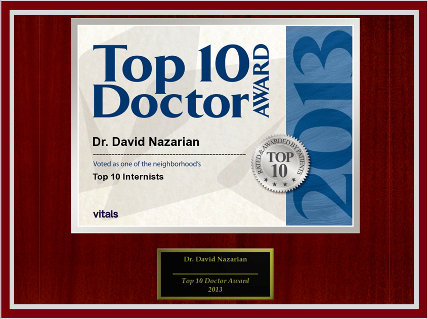 Top 10 Doctor | IV Vitamin Therapy in Beverly Hills